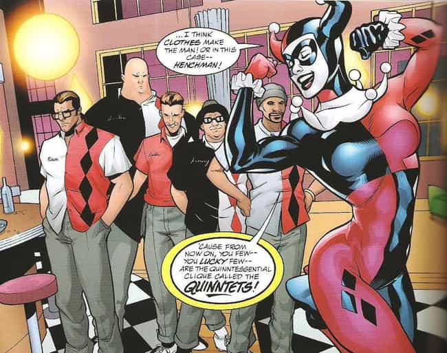 Her First Solo Series De... is listed (or ranked) 6 on the list How Harley Quinn Ascended From Henchwoman To Beloved Antihero