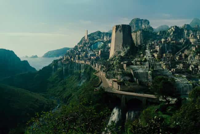 Themyscira is listed (or ranked) 2 on the list Which Fantasy Locations Would You Most Like To Vacation At?
