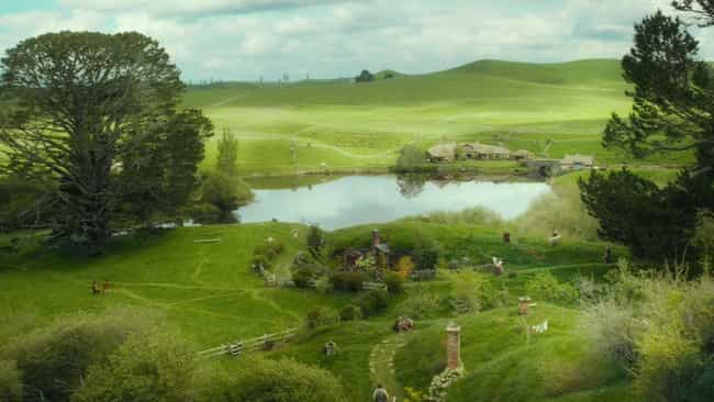 The Shire is listed (or ranked) 2 on the list Which Fantasy Locations Would You Most Like To Vacation At?