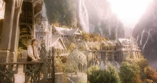 Rivendell is listed (or ranked) 3 on the list Which Fantasy Locations Would You Most Like To Vacation At?