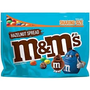 Hazelnut Spread M&M's is listed (or ranked) 12 on the list The Best New Candy Of 2019