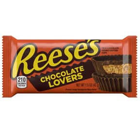 Reese's Chocolate Lovers is listed (or ranked) 6 on the list The Best New Candy Of 2019