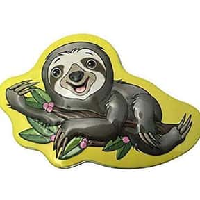 Sloth is My Spirit Animal tins is listed (or ranked) 14 on the list The Best New Candy Of 2019
