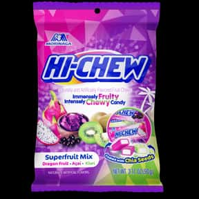 HI-CHEW Superfruit Mix is listed (or ranked) 8 on the list The Best New Candy Of 2019