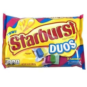 Starburst Duos is listed (or ranked) 2 on the list The Best New Candy Of 2019