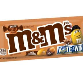 English Toffee M&Ms is listed (or ranked) 11 on the list The Best New Candy Of 2019