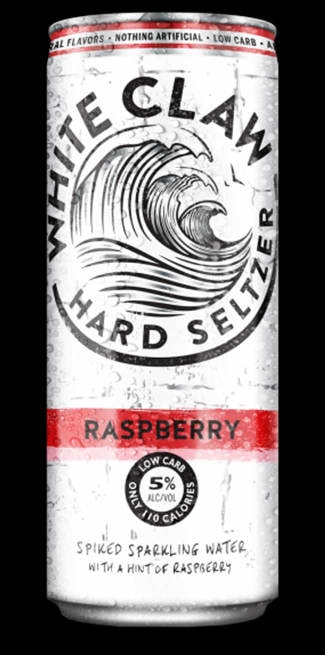 Raspberry is listed (or ranked) 3 on the list The Best White Claw Hard Seltzer Flavors, Ranked