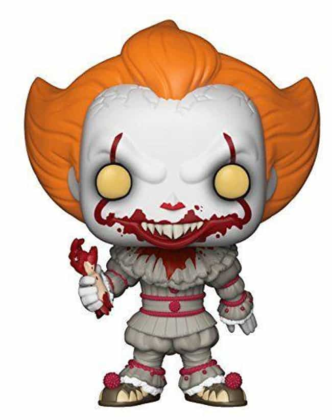 Pennywise From 'IT' With A Sev... is listed (or ranked) 2 on the list Creepy Funkos Every Horror Movie Fan Needs