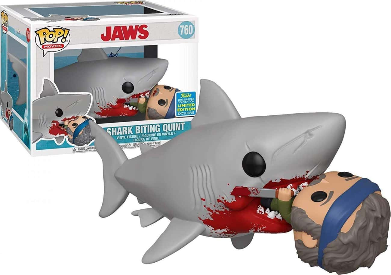'Jaws' Shark Biting Quint