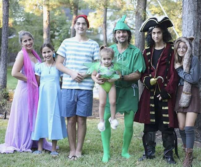 Peter Pan and the Lost Boys is listed (or ranked) 4 on the list Family Halloween Costume Ideas For 2019