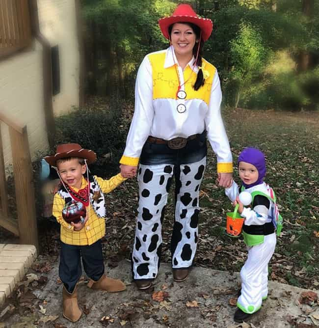 Toy Story Characters is listed (or ranked) 3 on the list Family Halloween Costume Ideas For 2019