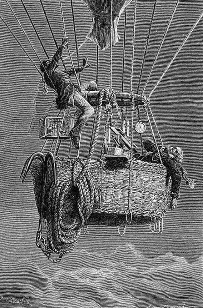 On Their 36,000-Foot Ascent, T... is listed (or ranked) 3 on the list The True Story Of The Ballooning Expedition That Inspired 'The Aeronauts'