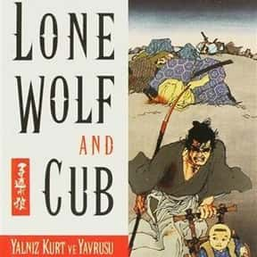 Lone Wolf and Cub is listed (or ranked) 25 on the list The 50+ Greatest Manga of All Time, Ranked
