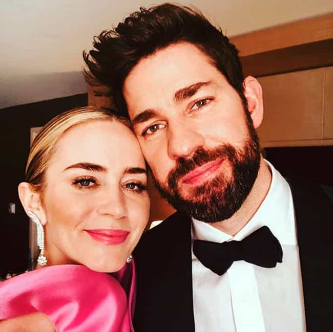 John Krasinski Cried So ... is listed (or ranked) 3 on the list The Cutest Celebrity Couples Stories We Could Find