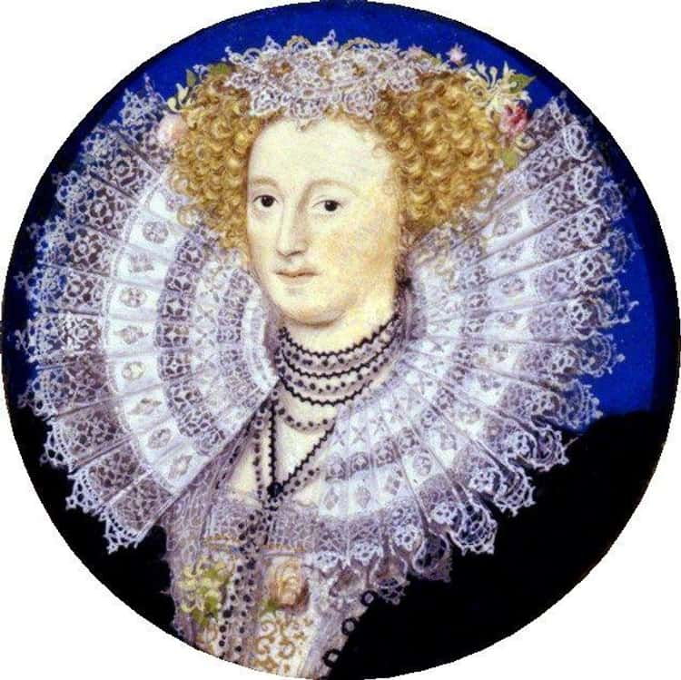 The Invention Of Starch Led To More Elaborate Ruffs