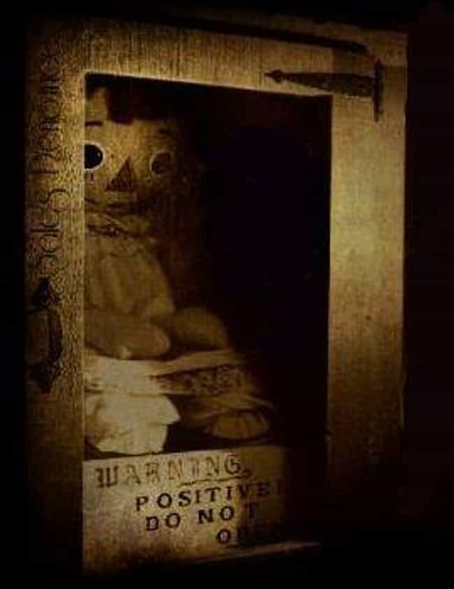 Annabelle The Haunted Doll is listed (or ranked) 1 on the list The Strangest Cases Ed And Lorraine Warren Ever Worked, According To The Warrens Themselves