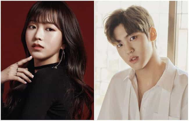 Kim Sohee & Song Yuvin is listed (or ranked) 3 on the list 12 K-pop Idols Who Are Dating In 2019