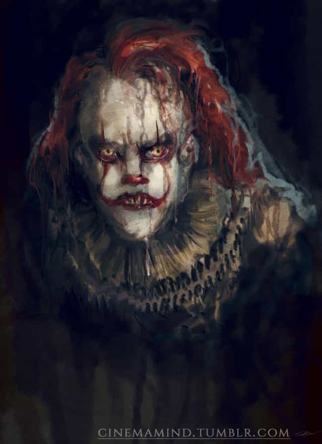 Disgruntled Pennywise is listed (or ranked) 1 on the list Here's All The Best 'IT' Fan Art We Could Find