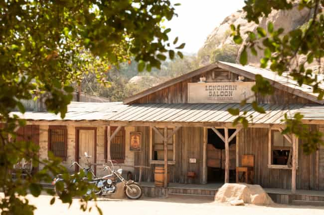 Spahn Ranch Was Manson's Actua... is listed (or ranked) 1 on the list Details In 'Once Upon a Time In Hollywood ' That Were Actually True