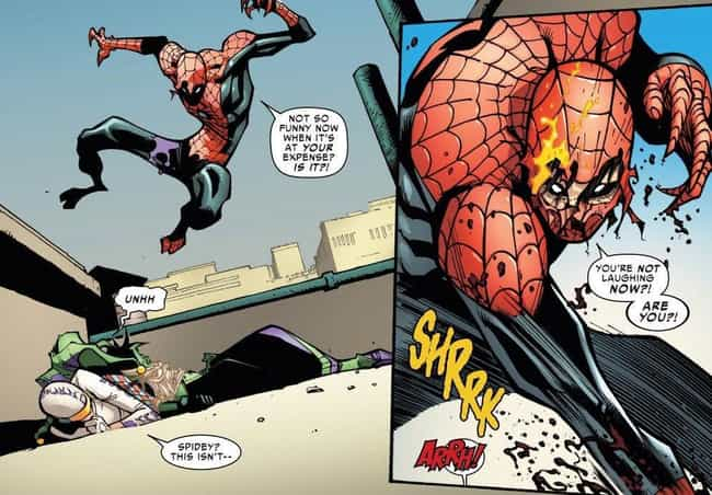 For Octavius, Being The Superi... is listed (or ranked) 4 on the list What Happened When Doctor Octopus Took Over Spider-Man's Body And Tried Being A Hero?