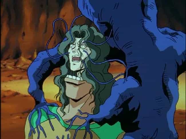 Elder Toguro's Body Is Consume... is listed (or ranked) 3 on the list 15 Anime Characters Who Suffered A Fate Worse Than Death