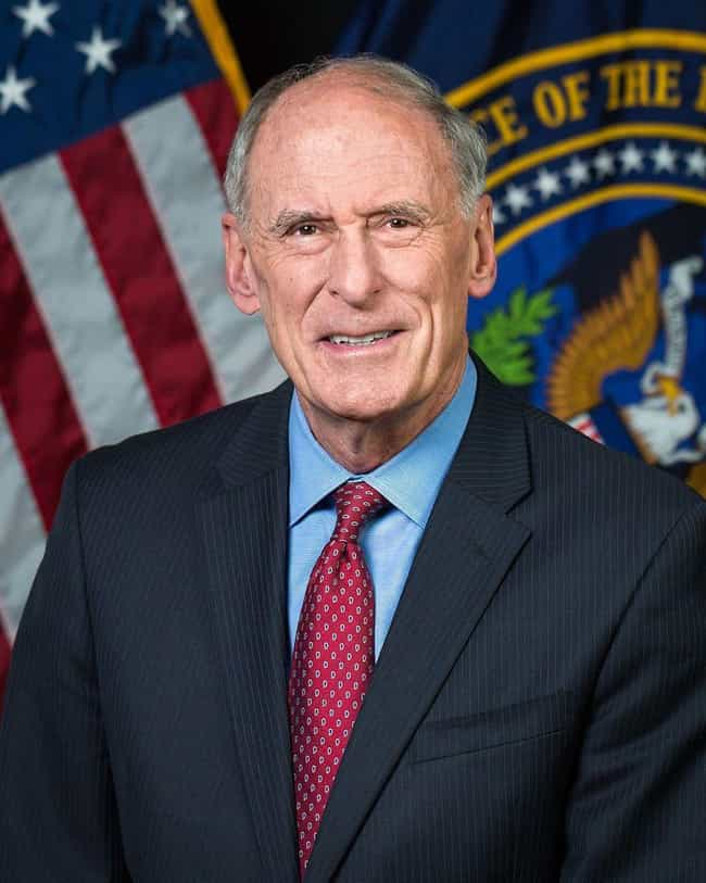 Dan Coats - Resigned is listed (or ranked) 66 on the list Everyone Who Has Been Fired Or Resigned From The Trump Administration So Far