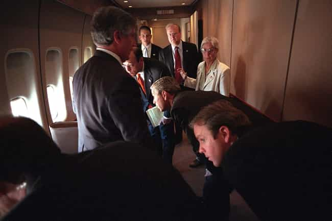 Everyone Was Cautious Ab... is listed (or ranked) 4 on the list People Aboard Air Force One On 9/11/2001 Describe What It Was Like