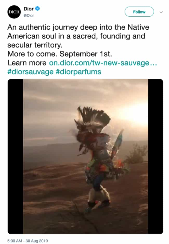 Dior Created A Scent To Celebr... is listed (or ranked) 3 on the list The Biggest Corporate Social Media Fails And Disasters Of 2019