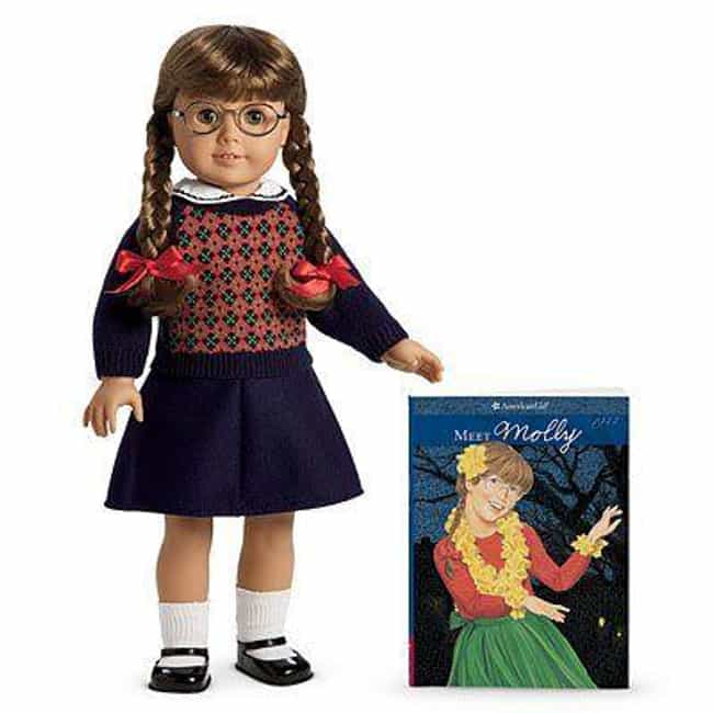 Molly McIntire is listed (or ranked) 4 on the list The Most Adorable American Girl Dolls Throughout History