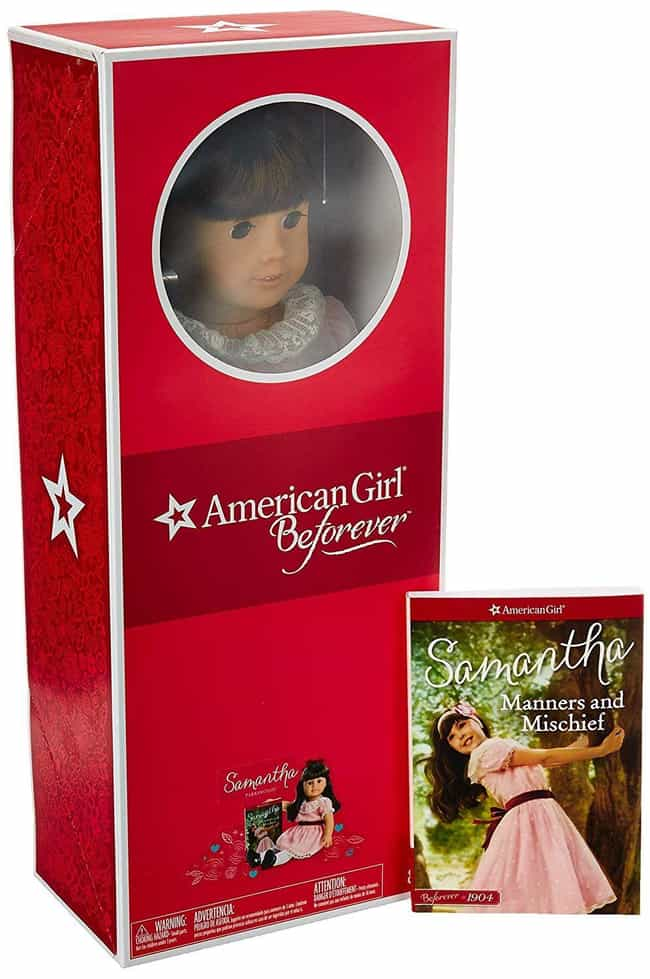 Samantha Parkington is listed (or ranked) 1 on the list The Most Adorable American Girl Dolls Throughout History