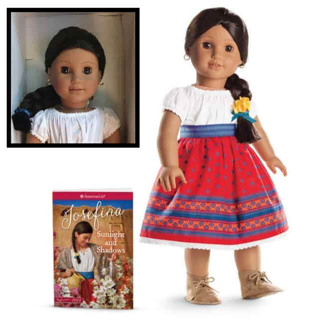 Josefina Montoya is listed (or ranked) 3 on the list The Most Adorable American Girl Dolls Throughout History