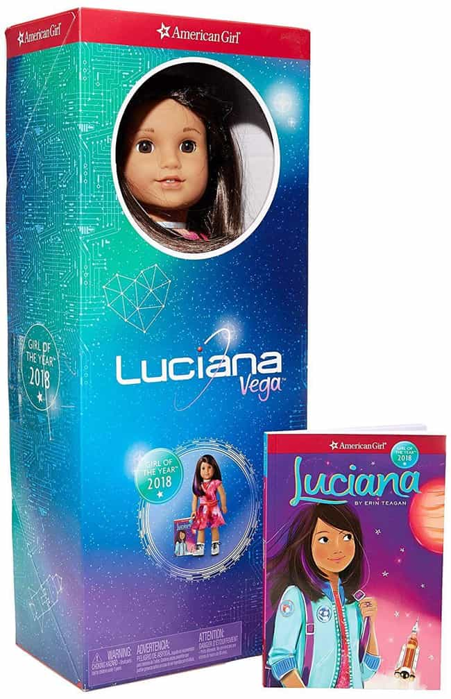 Luciana Vega is listed (or ranked) 1 on the list The Most Adorable American Girl Dolls Throughout History
