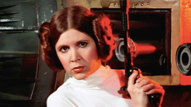 Leia's Hair Buns In 'ANH' Were... is listed (or ranked) 1 on the list Wardrobe Secrets From Behind The Scenes Of The 'Star Wars' Franchise