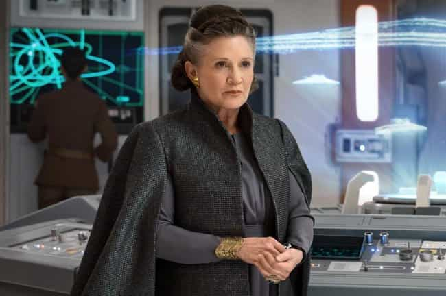 Leia's Cape In 'TLJ' Was Inspi... is listed (or ranked) 4 on the list Wardrobe Secrets From Behind The Scenes Of The 'Star Wars' Franchise