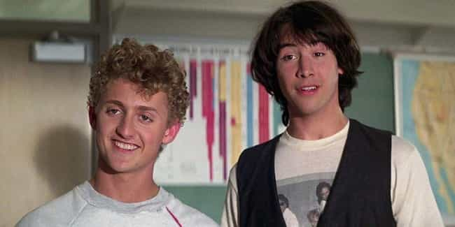 The Director Challenged Reeves... is listed (or ranked) 3 on the list Behind-The-Scenes Stories From The Making Of 'Bill & Ted's Excellent Adventure'