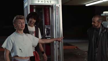 The Phone Booth Was A Rickety  is listed (or ranked) 1 on the list Behind-The-Scenes Stories From The Making Of 'Bill & Ted's Excellent Adventure'