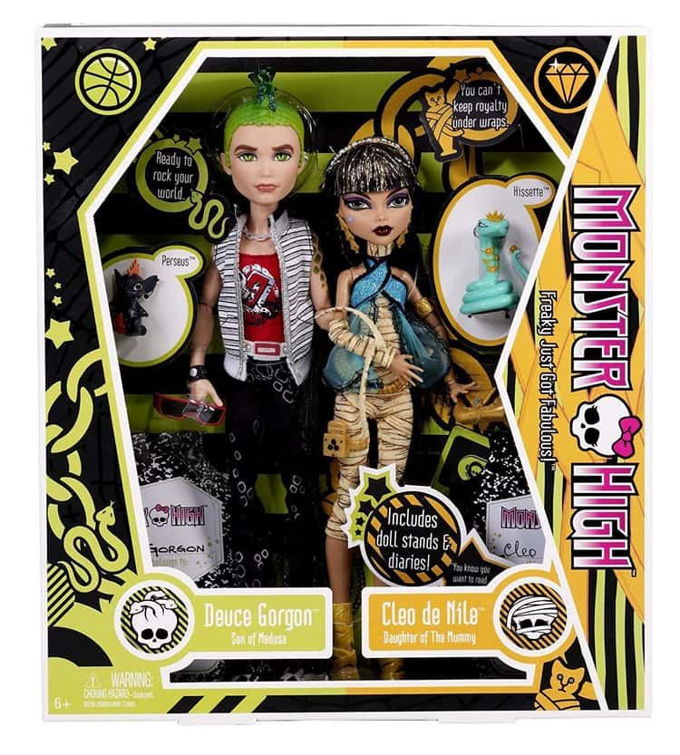 First Wave - Cleo De Nile and Deuce Gorgon