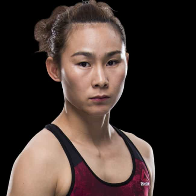 Yan Xiaonan is listed (or ranked) 3 on the list The Best UFC Fighters From China