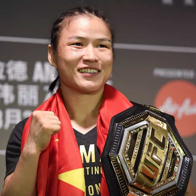 Zhang Weili is listed (or ranked) 1 on the list The Best UFC Fighters From China