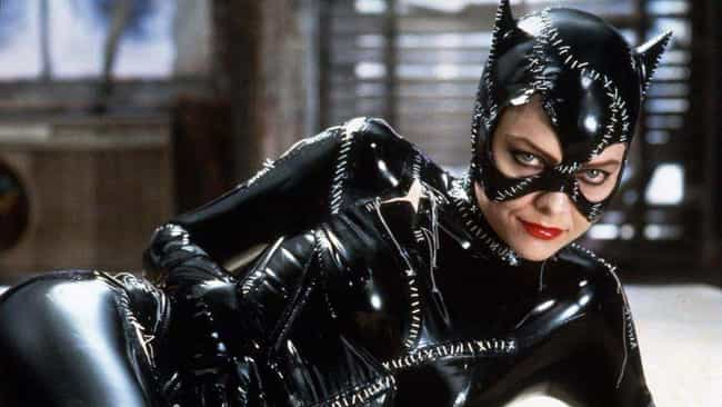 Getting Michelle Pfeiffe... is listed (or ranked) 4 on the list Wardrobe Secrets From Behind The Scenes Of 'Batman Returns'