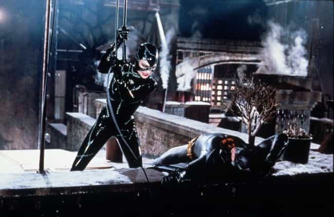 Michelle Pfeiffer Couldn... is listed (or ranked) 1 on the list Wardrobe Secrets From Behind The Scenes Of 'Batman Returns'