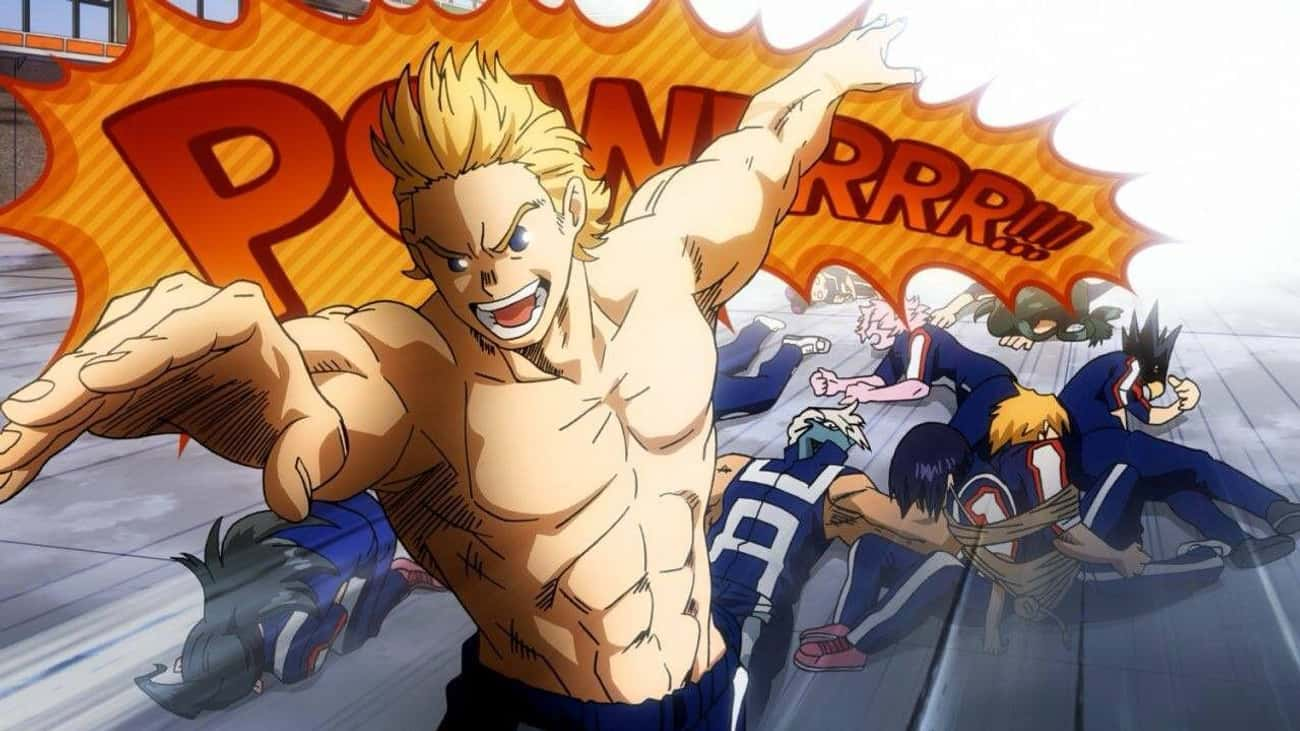 Class 1-A Vs. Mirio Togata - ' is listed (or ranked) 3 on the list 13 Flawless Victories Where The Hero Takes Zero Damage