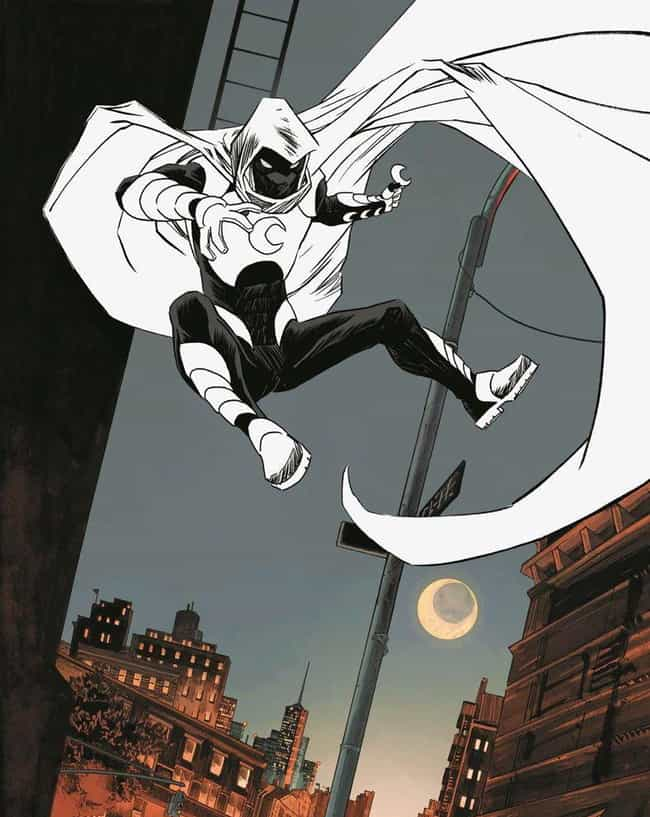 Khonshu Charges Marc Spector W... is listed (or ranked) 7 on the list Meet Moon Knight: The Superhero With Split Personalities And Powers Straight From An Egyptian God