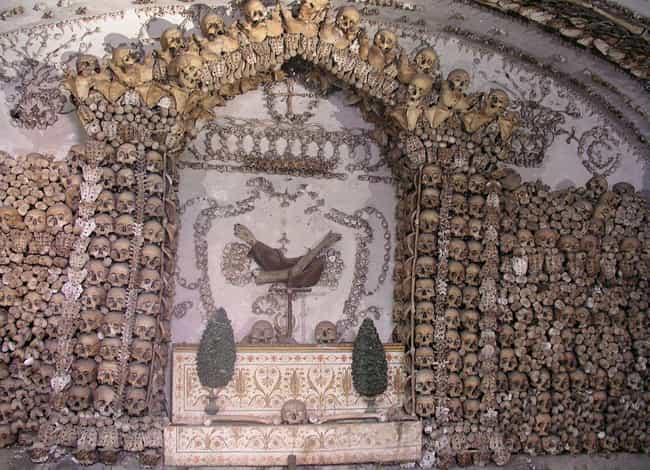 St. Mary Of Eulogies And The D... is listed (or ranked) 4 on the list Crypts And 'Bone Churches' Around The World That Are Open For Visitors