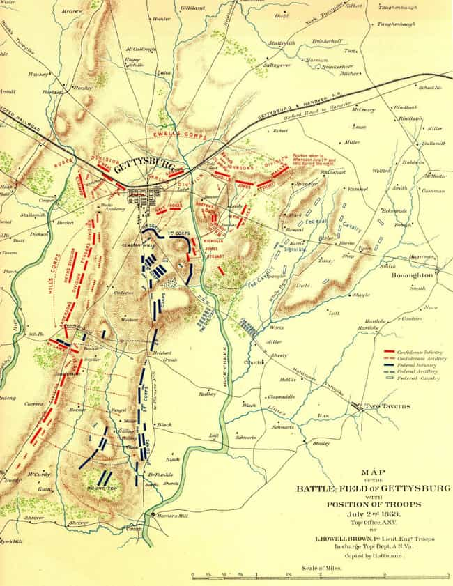 The Union Had The Tactical Adv... is listed (or ranked) 2 on the list Why Did The South Lose Gettysburg, The Most Decisive Battle Of The Civil War?