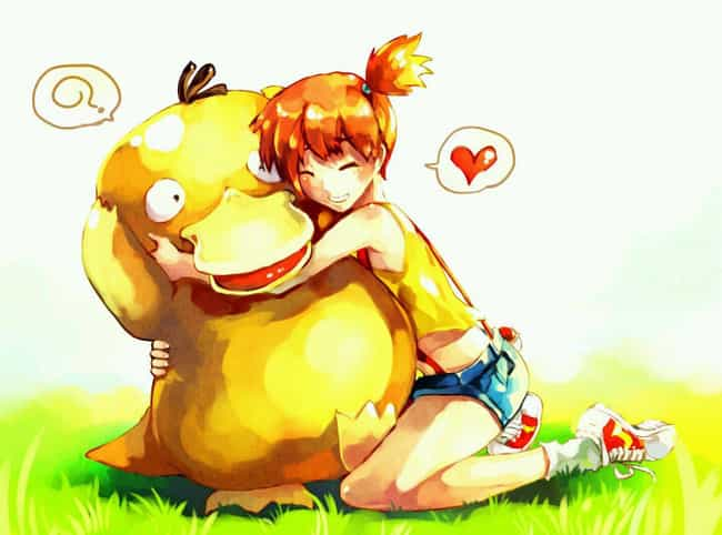 Getting Some Love From Misty is listed (or ranked) 2 on the list 18 Amazing Fan Art Creations Dedicated To Psyduck