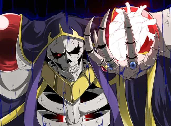 Ainz Ooal Gown - Overlord is listed (or ranked) 1 on the list The 20 Greatest Isekai Anime Villains