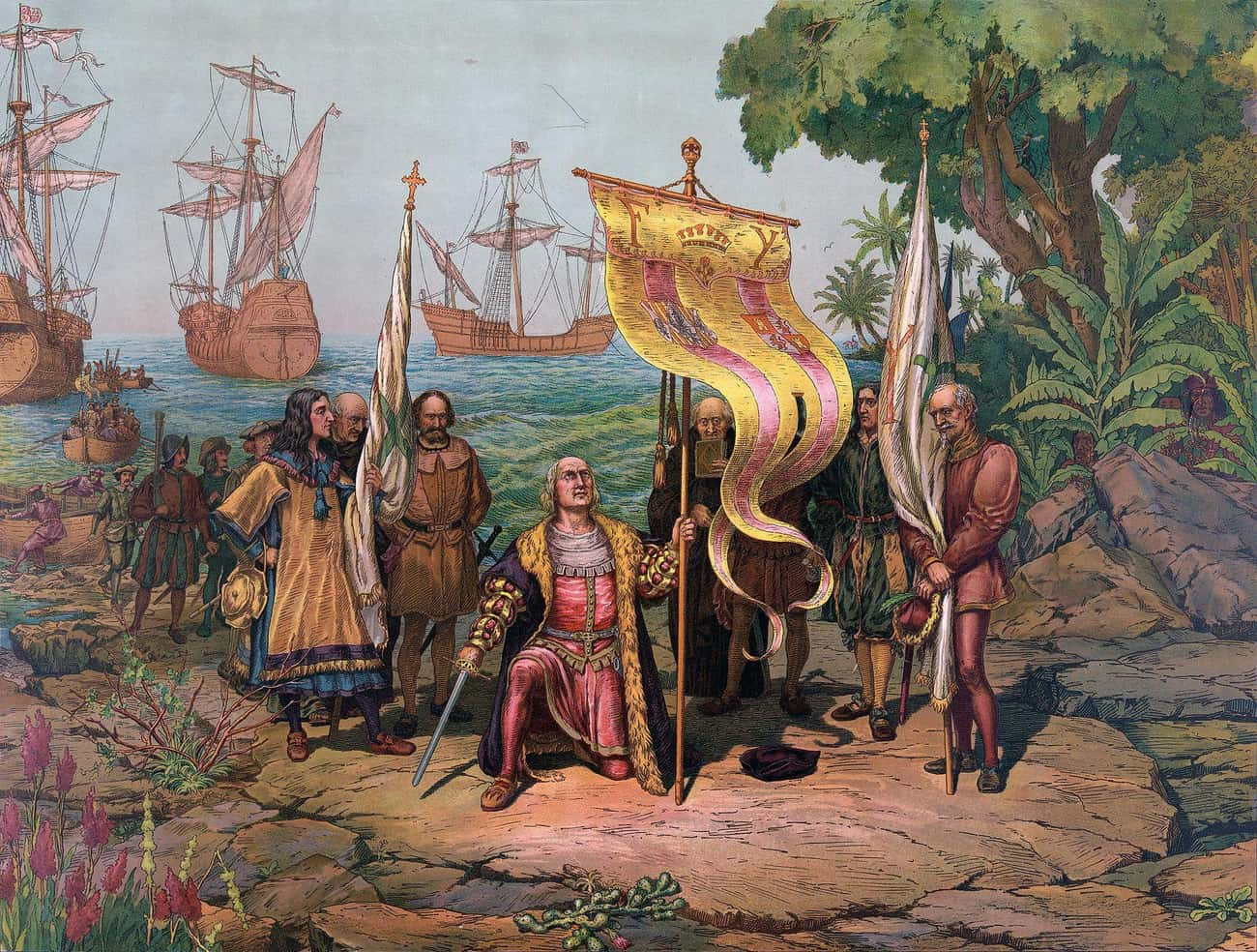 Some Other Explorer Would Have Run Into The Americas, Only Delaying The Same Inevitable Outcomes