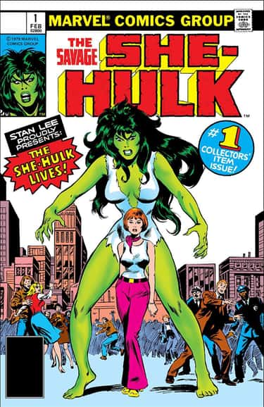 She-Hulk Is One Of The Last Characters To Be Created By Stan Lee - And Was Inspired By Copyright