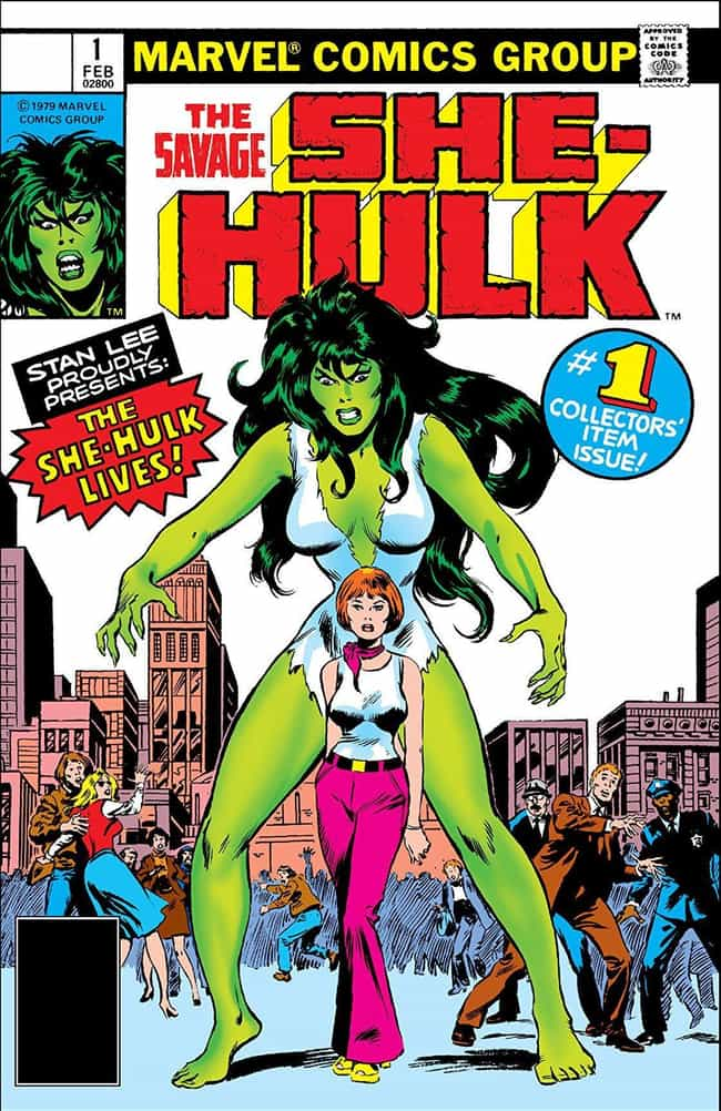 She-Hulk Is One Of The L... is listed (or ranked) 1 on the list She-Hulk Is A Super-Powered Lawyer Who Can Go Toe-To-Toe With Her Big Green Cousin
